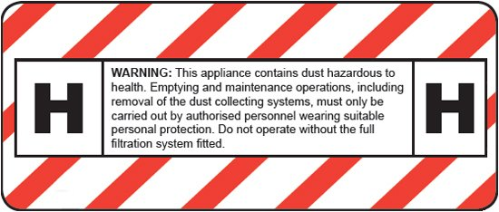H-Class Dust Filtration | Red Band UK